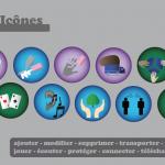 Famille d'icônes de Camille BRUNEL