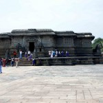 The temple complex was built by king Vishnuvardhana in commemoration of his victory over the Cholas at Talakad in 1117 CE. Legend has it that it took 103 years to complete.