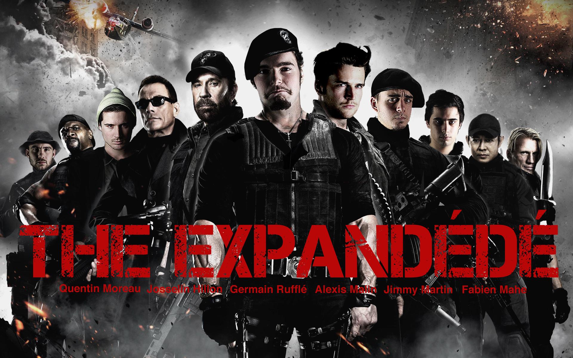 The Expandables - (De gauche à droite) Quentin Moreau, Josselin Hillion, Germain Rufflé, Alexis Malin, Jimmy Martin et Fabien Mahé