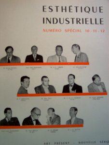 Esthétique industrielle 10-11-12, special edition, Congrès de Paris, 1953.