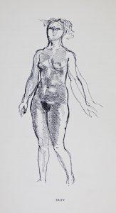 Raoul Dufy, sans titre, exposition Porza, De l'idée à la forme, Musée Galliera, Paris, Mars-avril 1939