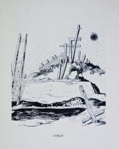 """Jean Lurçat, étude pour """"Bataille de Trafalgar (1929-39)."""