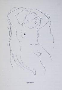 Henri Navarre, dessin