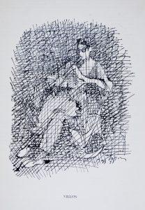 Jacques Villon, Le joueur de flageolet