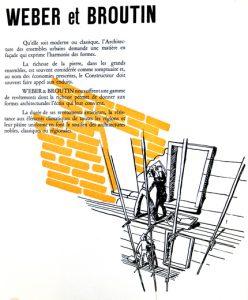 Illustration catalogue, Congrès National de l'Association Provinciale des Architectes Français, Nantes, 1953