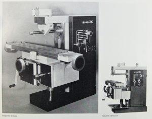 Alcera, fraiseuse, design industriel années 1969, Design industrie n° 94, janvier-février 1969
