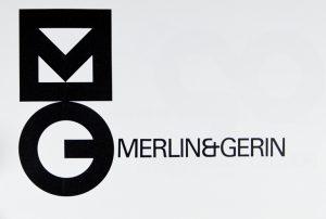 Merlin Gerin, nouveau logo, Design Industrie n° 84-85, p. 25