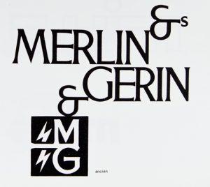 Merlin Gerin ancien logo, Design Industrie n° 84-85, p. 25
