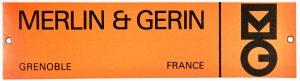 Merlin Gerin, image de firme, catalogue archives Technès, Henri Viénot