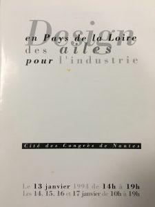 Catalogue exposition Cité des Congrès de Nantes 13-17 janvier 1994