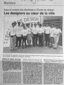 Les diplômés de 1998