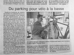 Projets de Thomas Nicot et Hervé Grollier Article du 4 juillet 1998
