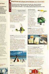 Projets de fin d'études 2004 Santé, Habitat, Environnement, Transports... DY20 - avril 2004