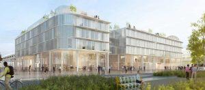 L'École de design Nantes Atlantique sur l'ile de Nantes en 2022 Crédits photos : Agences MIMRAM/JOUIN Manku/GPAA. Images : Ida +