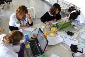 Workshop avril 2010 à Qingdao (Chine), en partenariat avec l'entreprise Haier (électro-ménager) associant des étudiants français et chinois, sous la direction de F. Bonnin