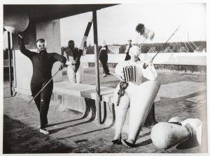 Classe de la scène du Bauhaus, 1927. Bauhaus Könemann, p.149