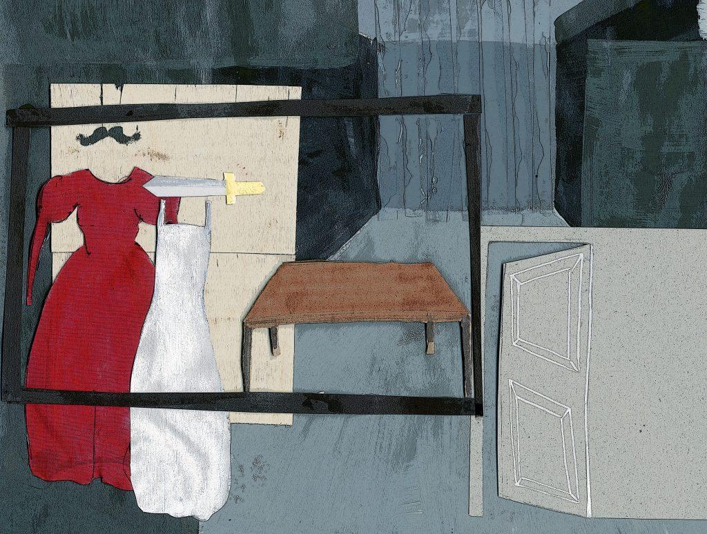 Illustration par Raphaëlle Bègne, Julie Bigot, Anne-Solenne Lasseuguette, Clara Launay, Romane Lecué.