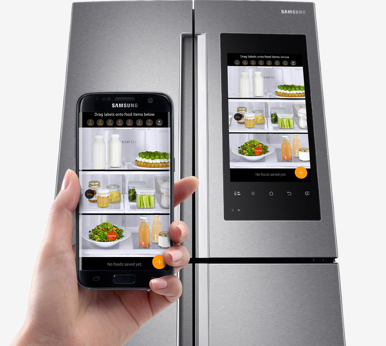 Samsung Ha Ref Rf56k9540sr Food Management Innerview Cameras