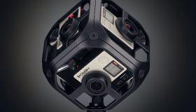 Les caméras Facebook Surround 360 x24 et x8 (source : https://www.usine-digitale.fr/article/facebook-devoile-deux-cameras-360-volumetriques-pour-les-pros.N529269)