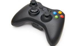 Generic gamepad isolated on a white background