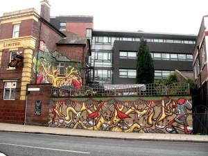 Mur de Sheffield