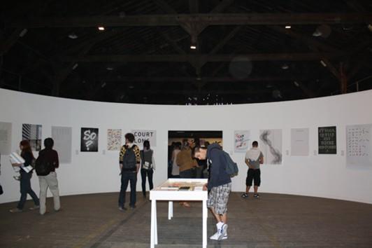 Sélection du jury des affiches du concours étudiant.