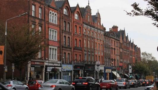 Photographie prse par n.moreau à Upper Baggot Street à Dublin en Irlande